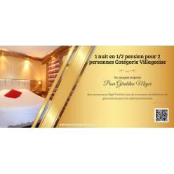 1 Nacht mit Halbpension für 2 Personen Kategorie « Villageoise »