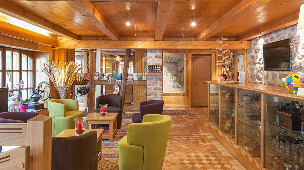Hôtel et restaurant en Alsace